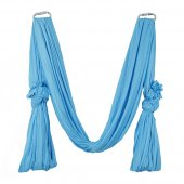 Pellor Deluxe Flying Yoga Hammock For Aerial Yoga Hammock, Blue