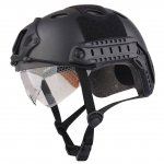 PELLOR Multifunctional Military Tactical Gear Airsoft Paintball SWAT Protective Helmet With Goggle