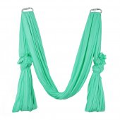 Pellor Deluxe Flying Yoga Hammock For Aerial Yoga Hammock, Green