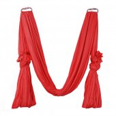 Pellor Deluxe Flying Yoga Hammock For Aerial Yoga Hammock, Red