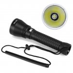 PELLOR CREE XHP-70 Torch LED Flashlight 150m Diving Depth 4000 Lumen Outdoor Underwater Diving Torchlight