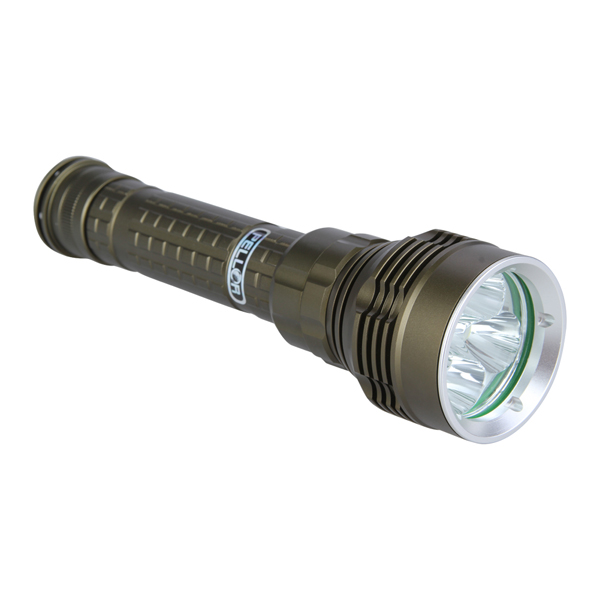 Pellor 150M Diving Flashlight 6000 Lumens 5 CREE L2 LED Waterproof Rechargeable Dive Light With Battery