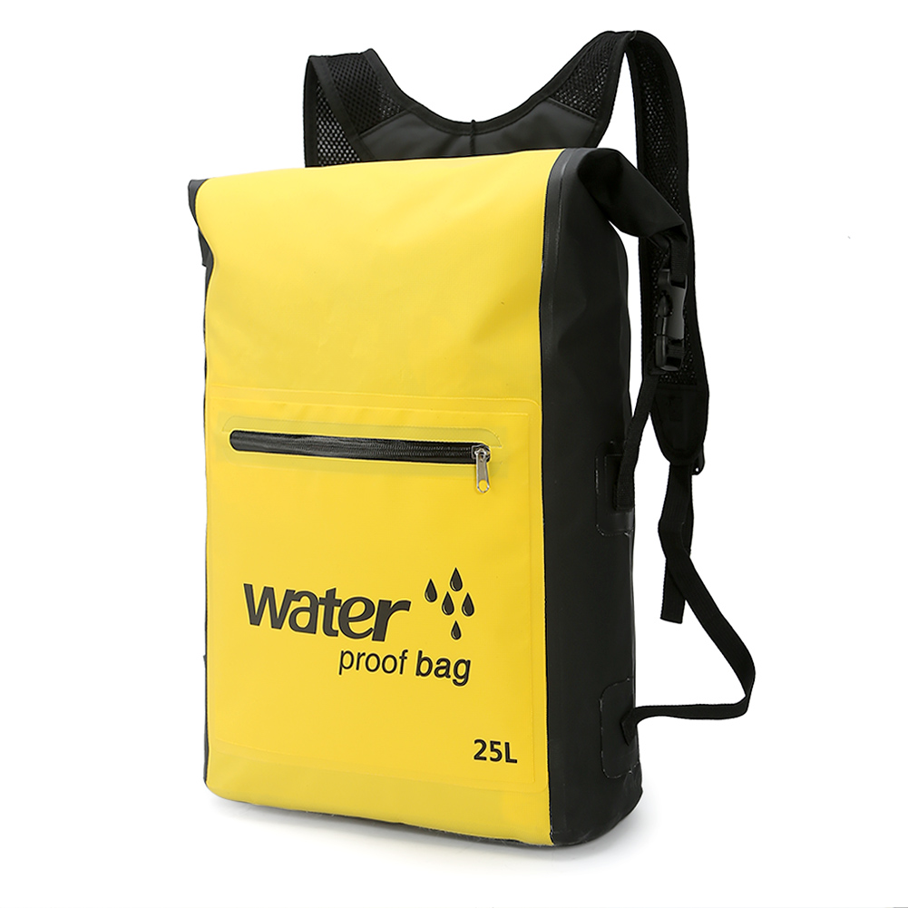 PELLOR 25L Waterproof Backpack Dry Bag for Outdoor Drifting Rafting Boating Canoeing Kayaking Camping